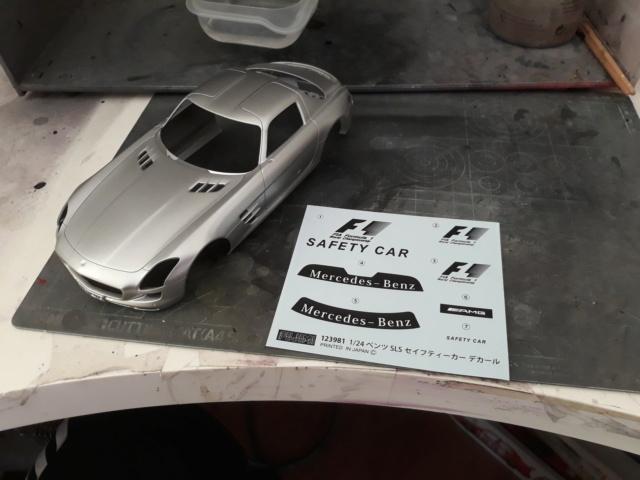 Mercedes  SLS Safety Car + Fotograbados. 20180921