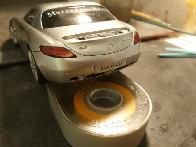 Mercedes  SLS Safety Car + Fotograbados. 20181022