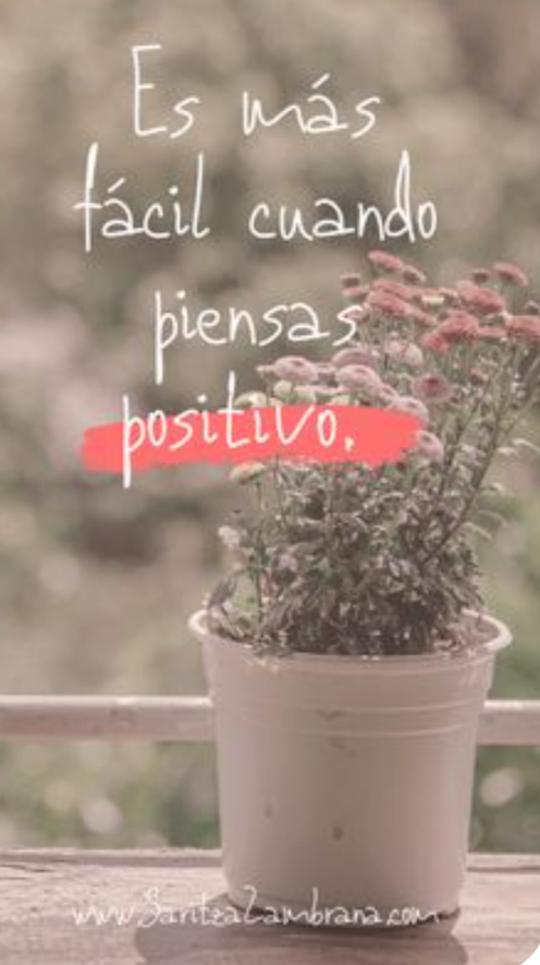 Piensa positivo Scr10543