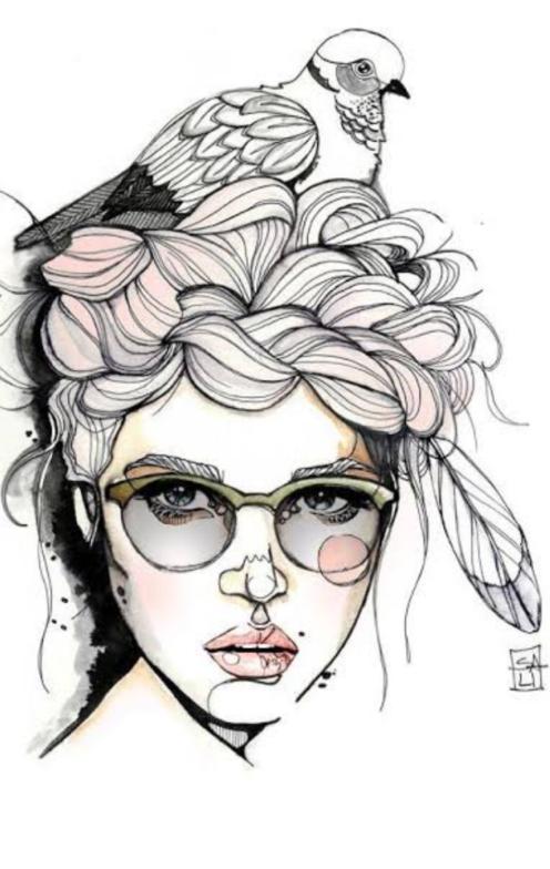 Ilustraciones femeninas  - Página 9 Scre1357