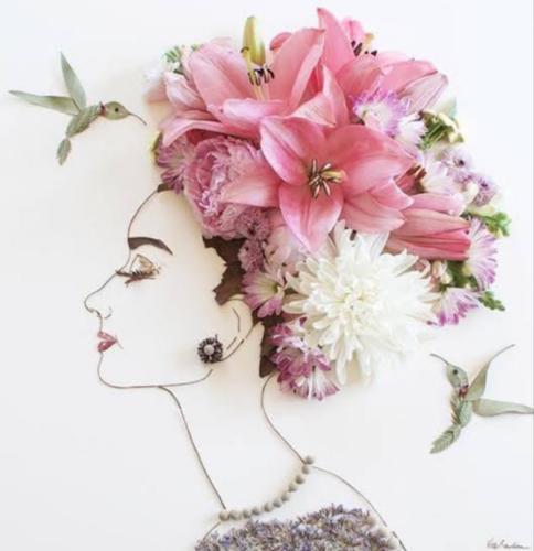 Arte con flores Scre1524