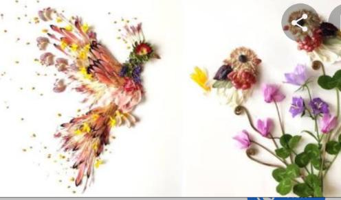 Arte con flores Scre1583