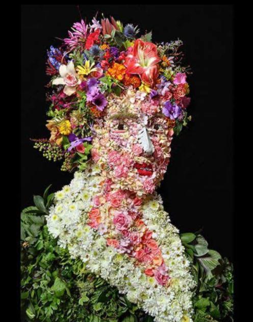 Arte con flores Scre1602