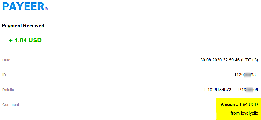 [PAGANDO] LOVELYCLIX- RECIBIDO PAGO 2 - 80% REFBACK - MINIMO 1 $ - Página 3 Pago_l11