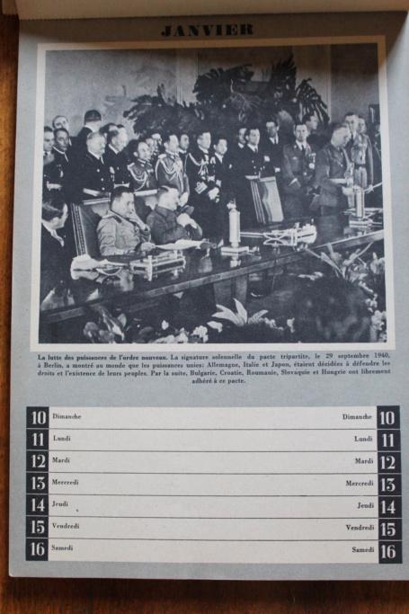 """Calendrier pour 1943 """"L'Ordre Nouveau est en Marche"""" Img_7918"""