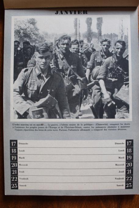 """Calendrier pour 1943 """"L'Ordre Nouveau est en Marche"""" Img_7919"""