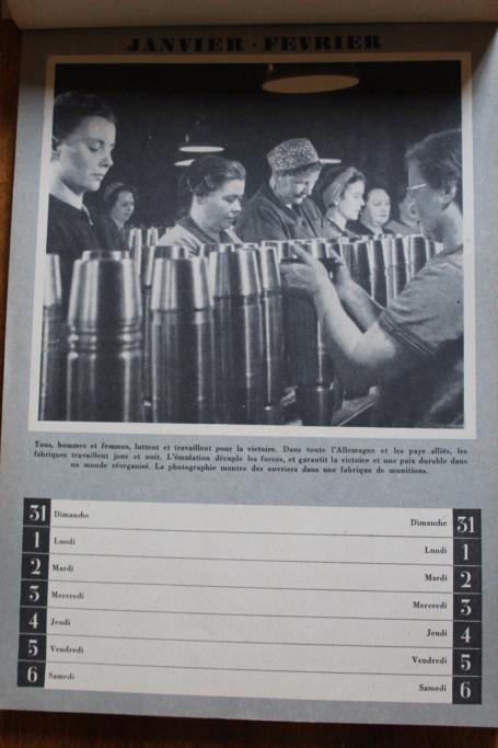 """Calendrier pour 1943 """"L'Ordre Nouveau est en Marche"""" Img_7921"""