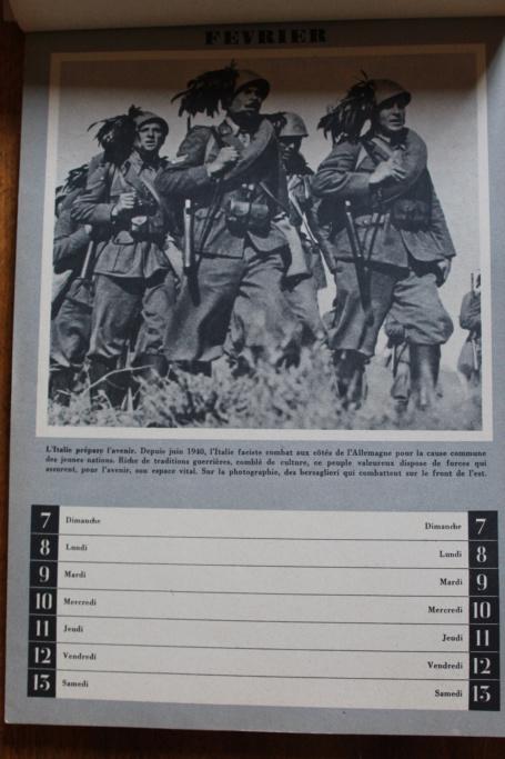 """Calendrier pour 1943 """"L'Ordre Nouveau est en Marche"""" Img_7922"""