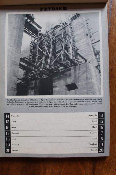 """Calendrier pour 1943 """"L'Ordre Nouveau est en Marche"""" Img_7923"""