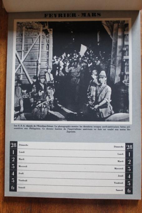 """Calendrier pour 1943 """"L'Ordre Nouveau est en Marche"""" Img_7924"""