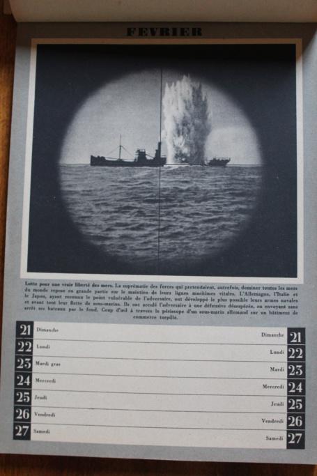 """Calendrier pour 1943 """"L'Ordre Nouveau est en Marche"""" Img_7925"""