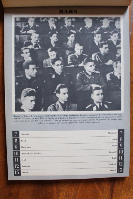 """Calendrier pour 1943 """"L'Ordre Nouveau est en Marche"""" Img_7926"""