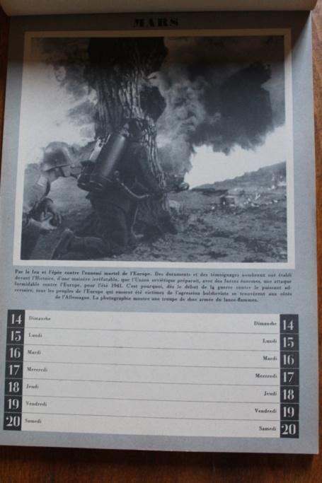 """Calendrier pour 1943 """"L'Ordre Nouveau est en Marche"""" Img_7927"""
