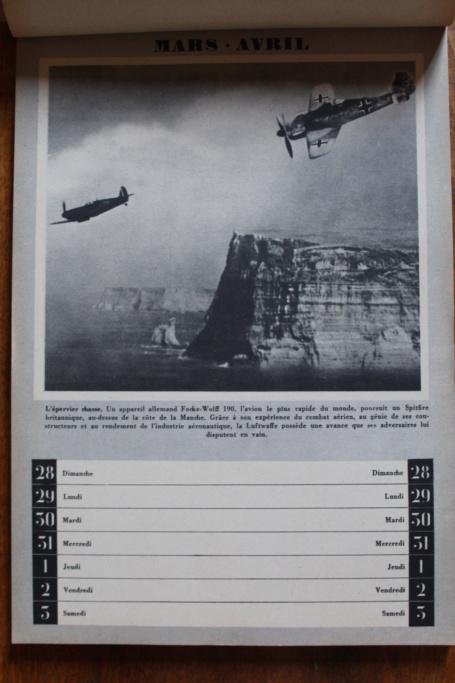 """Calendrier pour 1943 """"L'Ordre Nouveau est en Marche"""" Img_7928"""