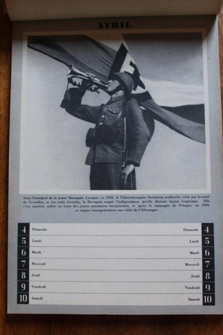 """Calendrier pour 1943 """"L'Ordre Nouveau est en Marche"""" Img_7929"""