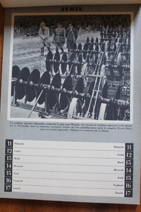 """Calendrier pour 1943 """"L'Ordre Nouveau est en Marche"""" Img_7930"""