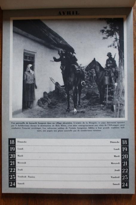 """Calendrier pour 1943 """"L'Ordre Nouveau est en Marche"""" Img_7931"""