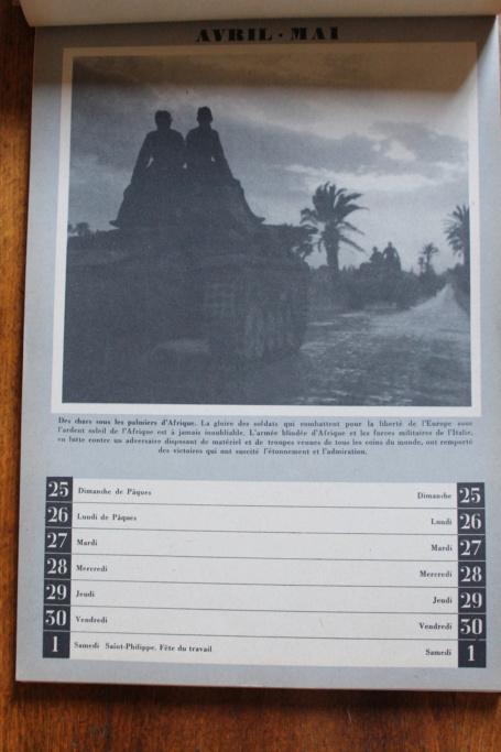 """Calendrier pour 1943 """"L'Ordre Nouveau est en Marche"""" Img_7932"""