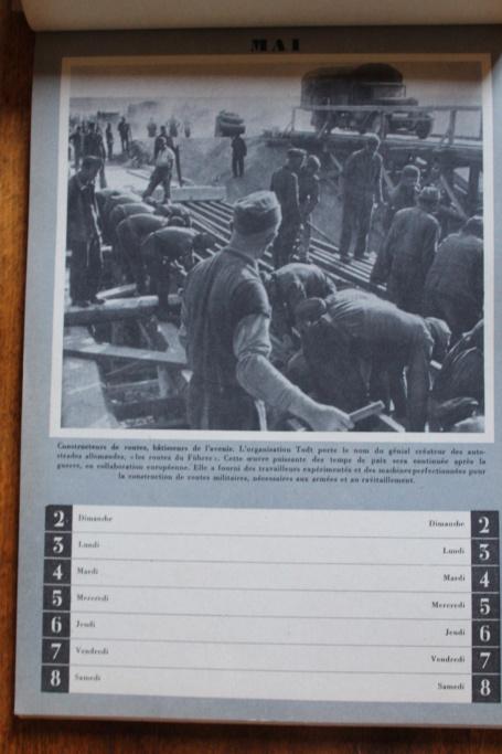 """Calendrier pour 1943 """"L'Ordre Nouveau est en Marche"""" Img_7934"""