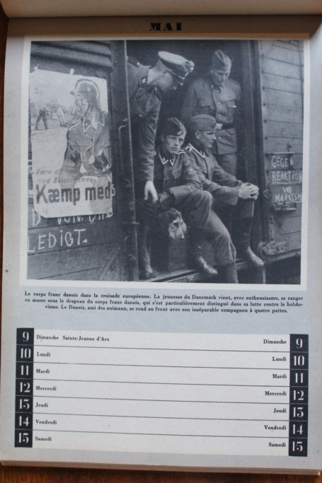 """Calendrier pour 1943 """"L'Ordre Nouveau est en Marche"""" Img_7935"""