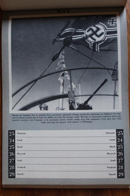 """Calendrier pour 1943 """"L'Ordre Nouveau est en Marche"""" Img_7936"""
