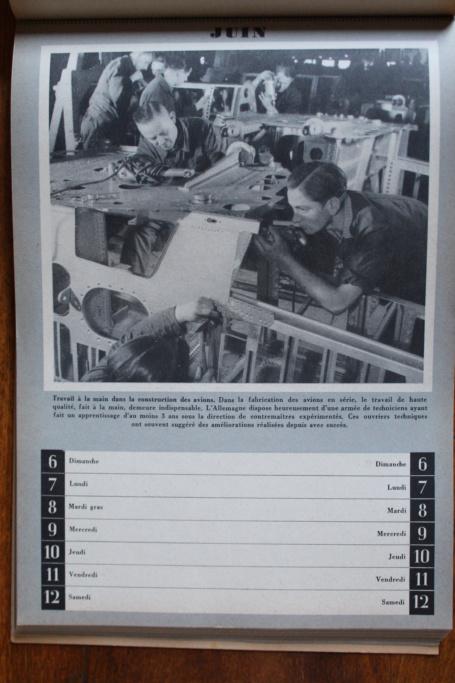"""Calendrier pour 1943 """"L'Ordre Nouveau est en Marche"""" Img_7938"""