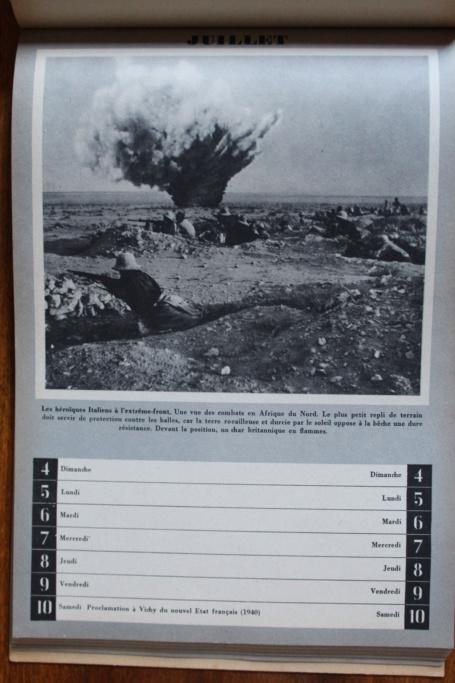 """Calendrier pour 1943 """"L'Ordre Nouveau est en Marche"""" Img_7941"""