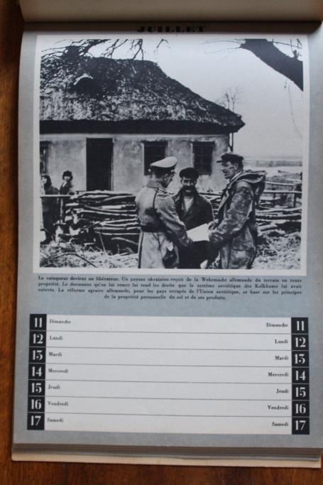 """Calendrier pour 1943 """"L'Ordre Nouveau est en Marche"""" Img_7942"""