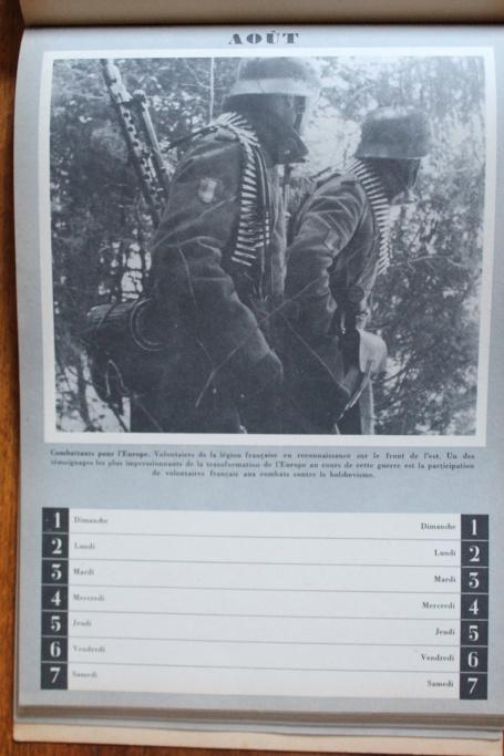 """Calendrier pour 1943 """"L'Ordre Nouveau est en Marche"""" Img_7945"""