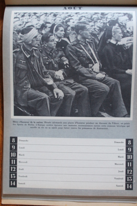"""Calendrier pour 1943 """"L'Ordre Nouveau est en Marche"""" Img_7946"""