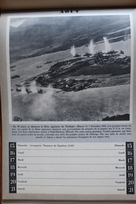 """Calendrier pour 1943 """"L'Ordre Nouveau est en Marche"""" Img_7947"""