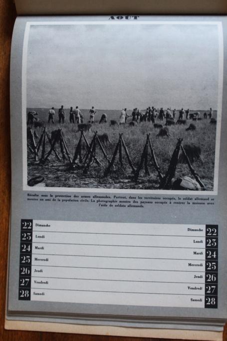 """Calendrier pour 1943 """"L'Ordre Nouveau est en Marche"""" Img_7949"""