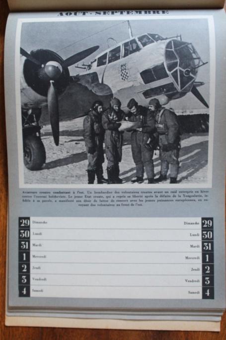 """Calendrier pour 1943 """"L'Ordre Nouveau est en Marche"""" Img_7950"""