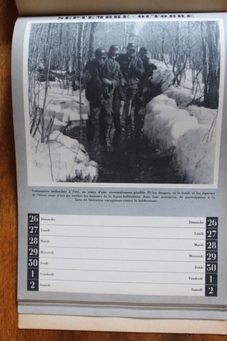 """Calendrier pour 1943 """"L'Ordre Nouveau est en Marche"""" Img_7952"""