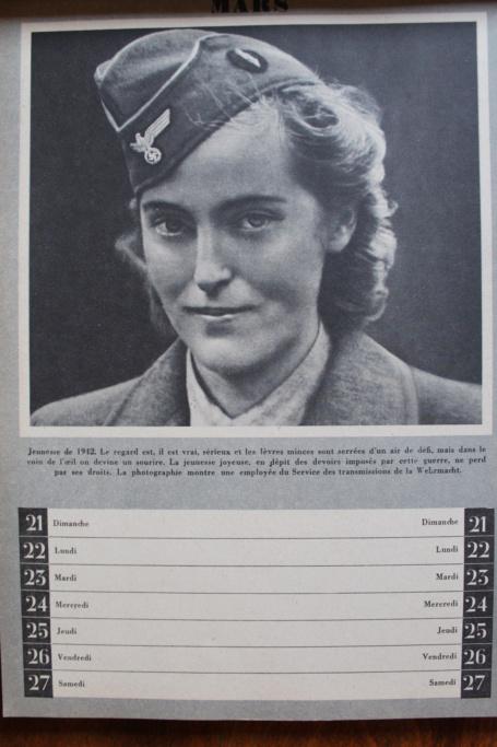 """Calendrier pour 1943 """"L'Ordre Nouveau est en Marche"""" Img_8010"""