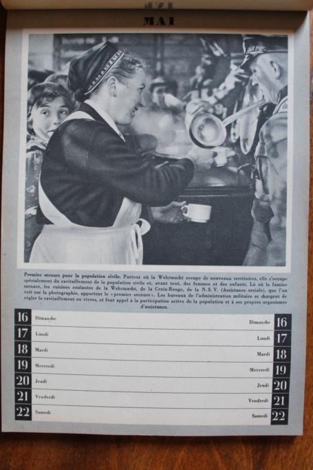 """Calendrier pour 1943 """"L'Ordre Nouveau est en Marche"""" Img_8011"""