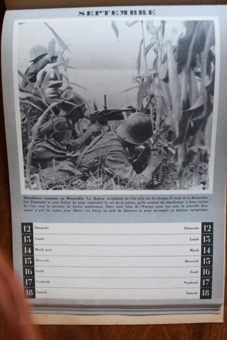 """Calendrier pour 1943 """"L'Ordre Nouveau est en Marche"""" Img_8013"""