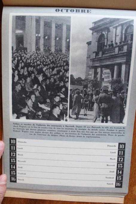 """Calendrier pour 1943 """"L'Ordre Nouveau est en Marche"""" Img_8023"""