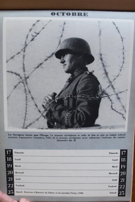 """Calendrier pour 1943 """"L'Ordre Nouveau est en Marche"""" Img_8024"""