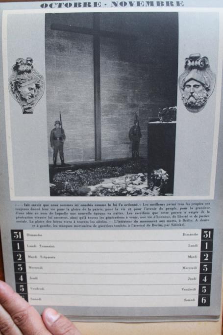 """Calendrier pour 1943 """"L'Ordre Nouveau est en Marche"""" Img_8026"""