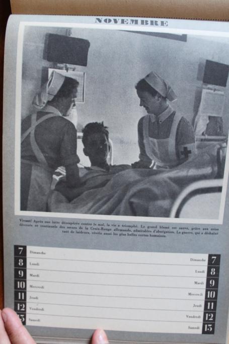 """Calendrier pour 1943 """"L'Ordre Nouveau est en Marche"""" Img_8027"""