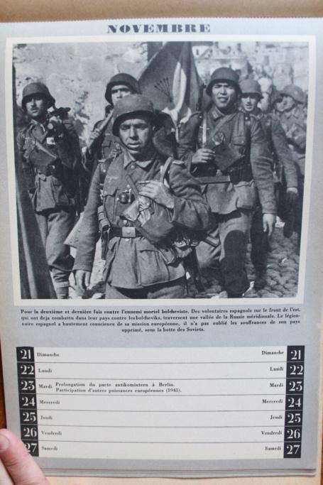 """Calendrier pour 1943 """"L'Ordre Nouveau est en Marche"""" Img_8029"""