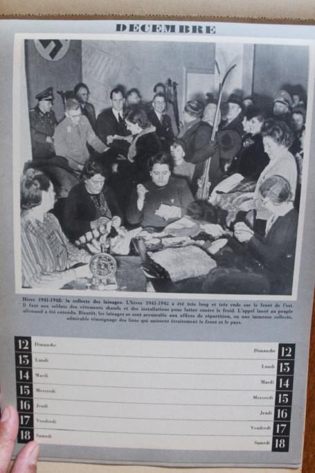 """Calendrier pour 1943 """"L'Ordre Nouveau est en Marche"""" Img_8031"""