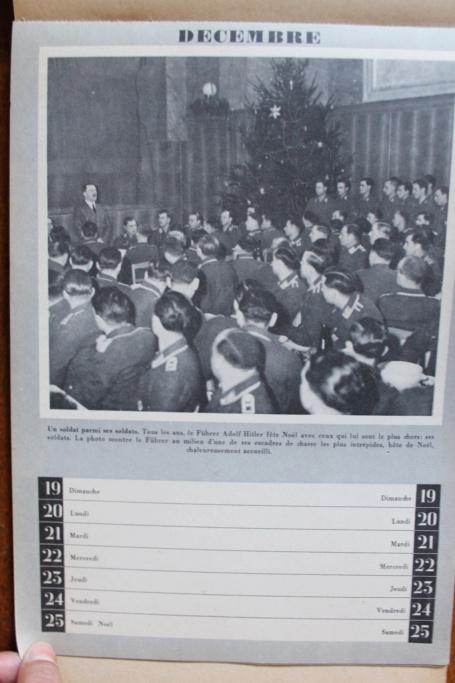 """Calendrier pour 1943 """"L'Ordre Nouveau est en Marche"""" Img_8032"""