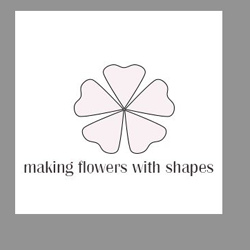 Making a flower with shapes Flower10
