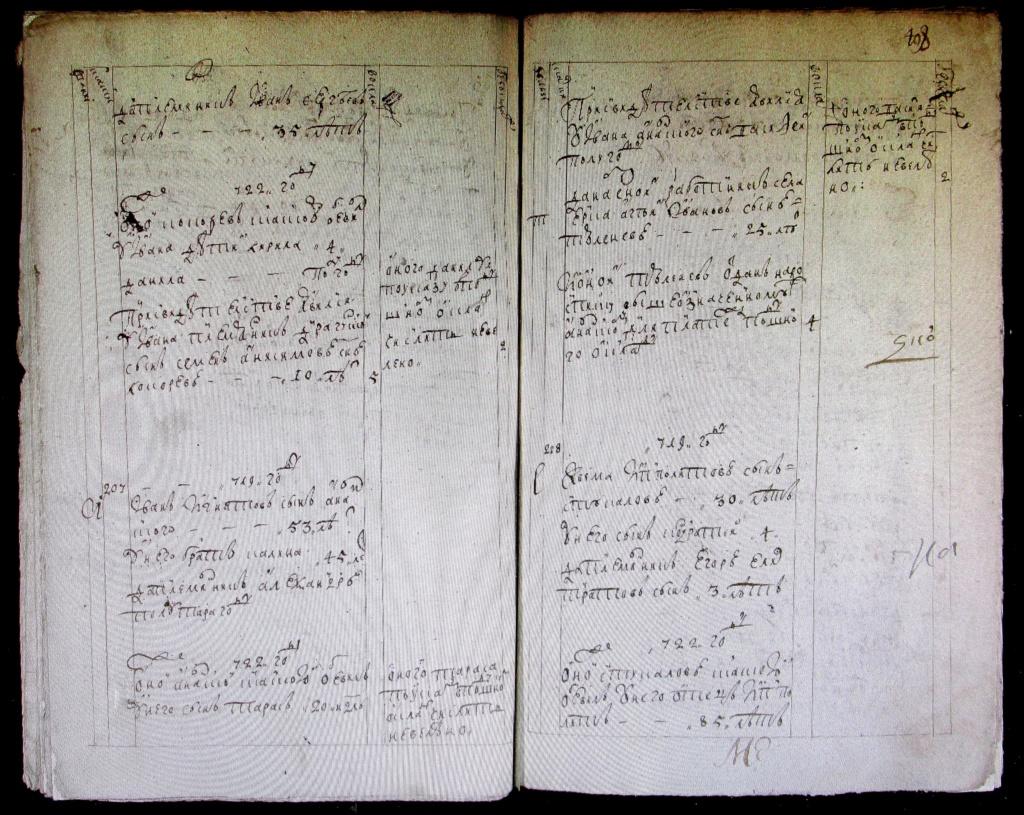 Архивный документ на день рождения. 1719__10