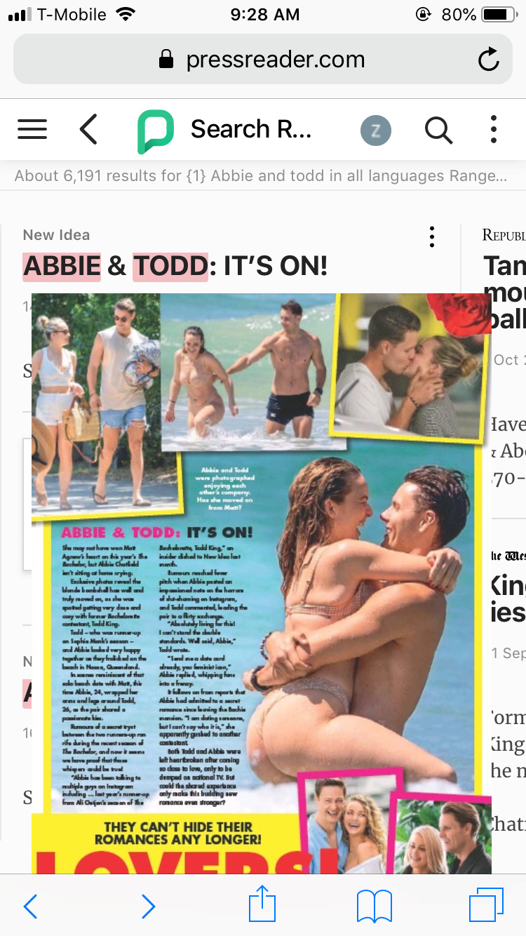 Abbie Chatfield - Bachelor Australia - Season 7 - Discussion  - Page 6 041c4610