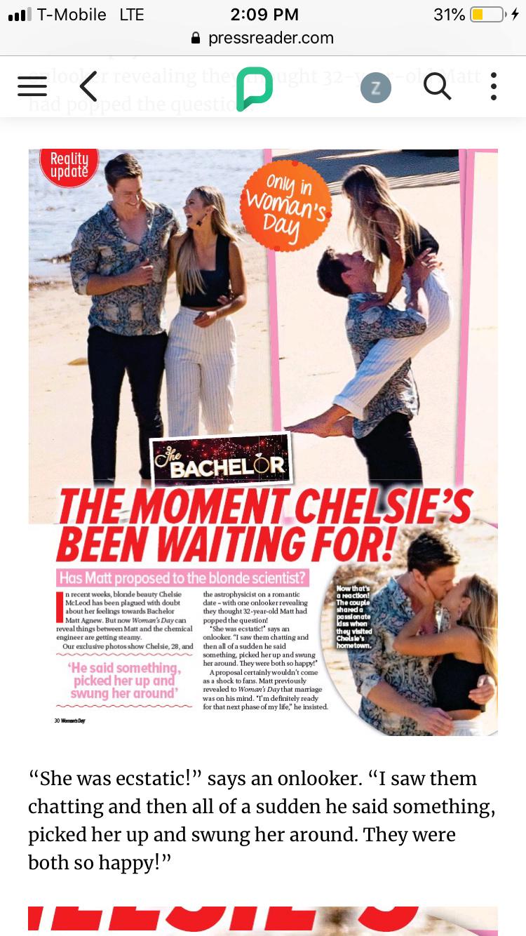 Bachelor Australia - Matt Agnew - Season 7 - Media SM - *Sleuthing Spoilers* #2 - Page 79 35f56f10