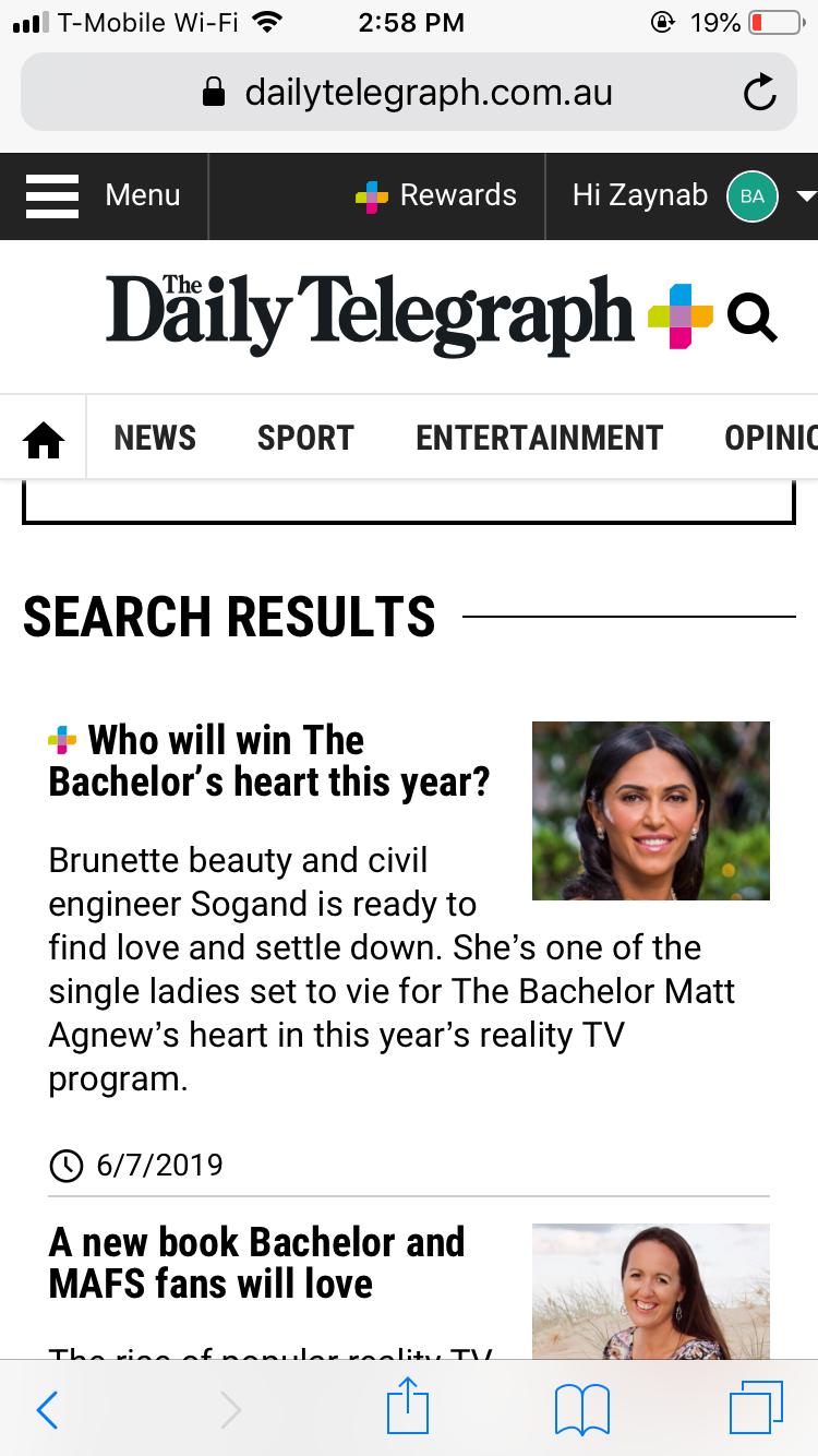 Sogand Mohtat - First Date Girl / Gold Dress/Brunette - Bachelor Australia - Matt Agnew - Season 7 - *Sleuthing Spoilers* - Page 2 8cd14c10