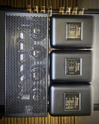 Mcintosh MC275 mk6 vacuum tube amplifier (Used) 091b1810